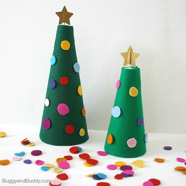 5 rboles de navidad para hacer con los ni os pequeocio for Adornos de navidad baratos