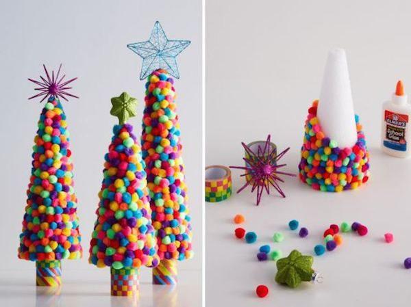 5 rboles de navidad para hacer con los ni os pequeocio - Arbol de navidad para ninos ...