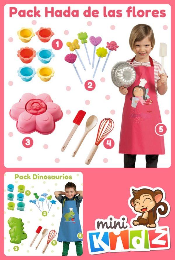 gana un pack de accesorios de cocina para ni os pequeocio On accesorios cocina ninos