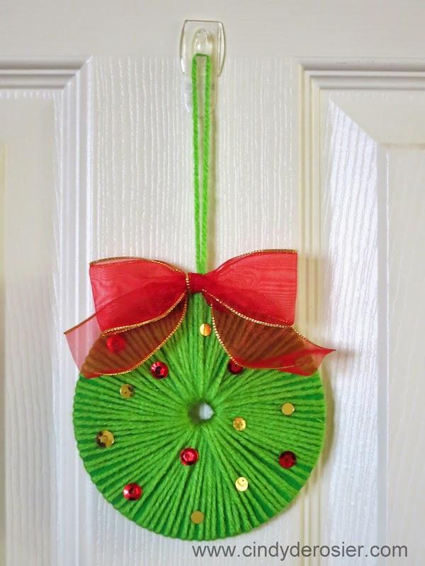 5 coronas de navidad para hacer con los ni os pequeocio - Como hacer coronas de navidad ...