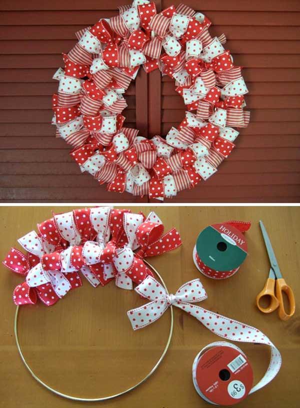5 coronas de navidad para hacer con los ni os pequeocio - Adornos de navidad para hacer con ninos ...