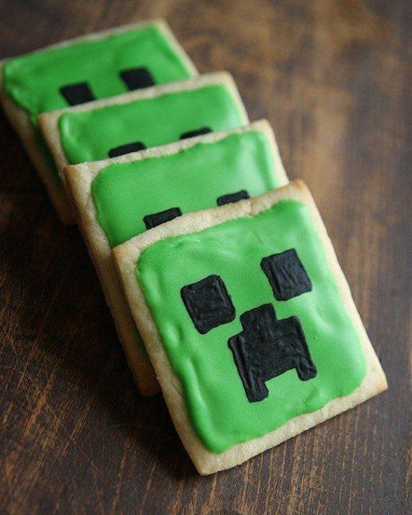 Recetas infantiles de Minecraft