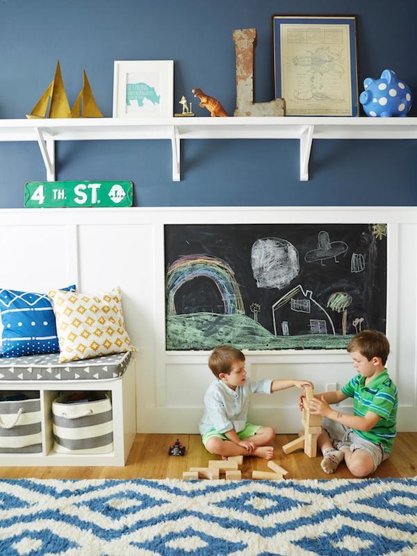 habitaciones infantiles - Pared Pizarra