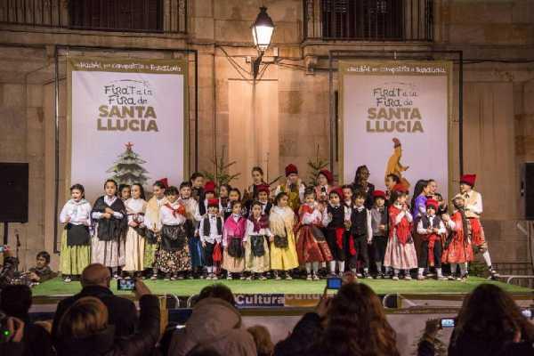 Barcelona con niños en Navidad