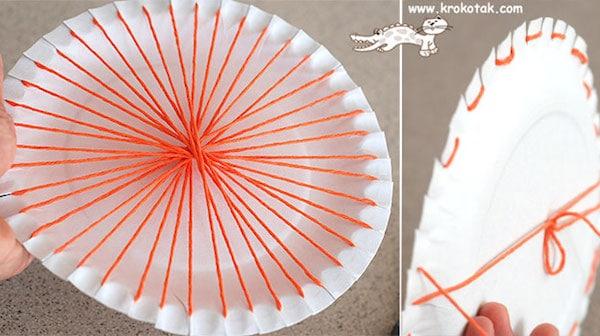 Cómo hacer telares circulares