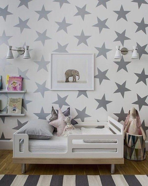 C mo hacer tus propios vinilos infantiles pequeocio - Papeles pintados para habitaciones ...