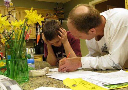 Ayudar a los niños a estudiar