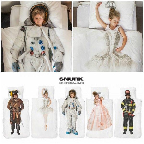 Edredones para niños Snurk