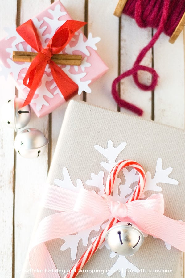 Envolver paquetes de Navidad