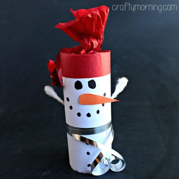 Manualidades de navidad con rollos de papel pequeocio - Manualidades navidad papel ...