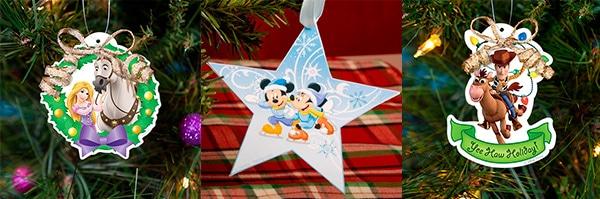 Recortables Disney de Navidad