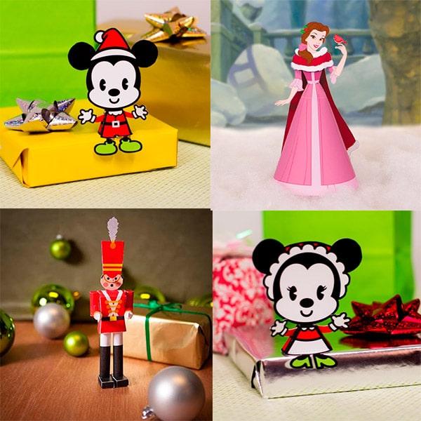 Manualidades de Navidad Disney