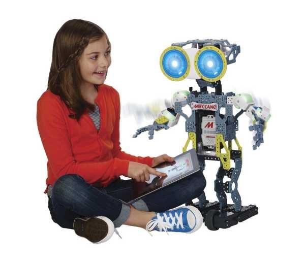 Robot Meccano, juguete estrella 2015
