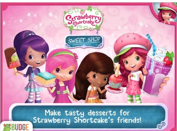 Aplicaciones infantiles de Tarta de Fresa