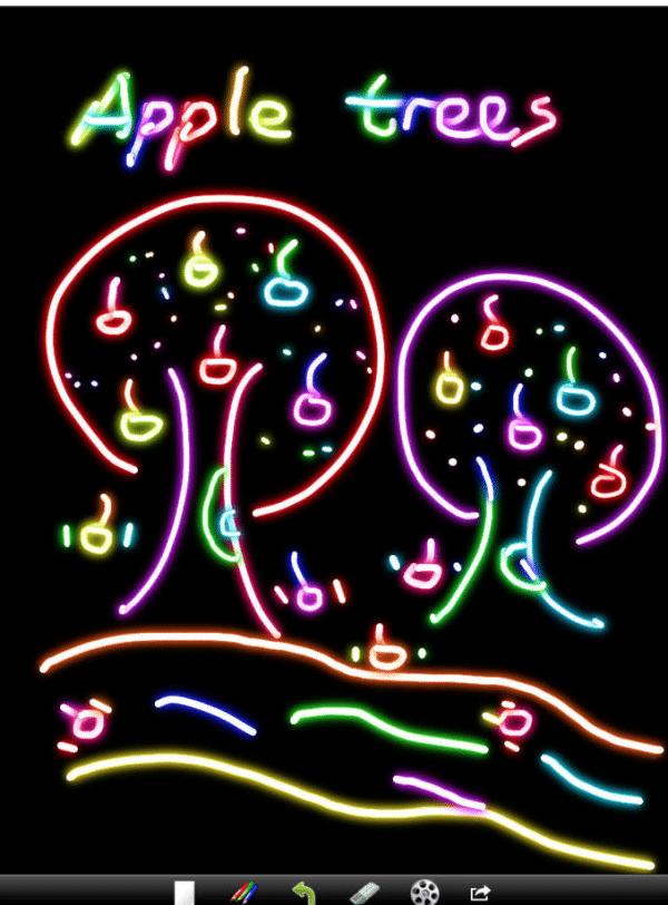 Kids Doodle, aplicacion de dibujo