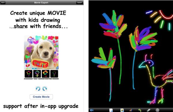 Aplicaciones infantiles gratis. Kids Doodle