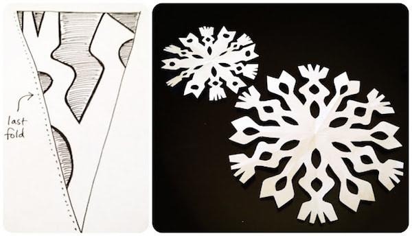 Copos De Nieve Aprende A Hacerlos De Forma Fácil Pequeociocom