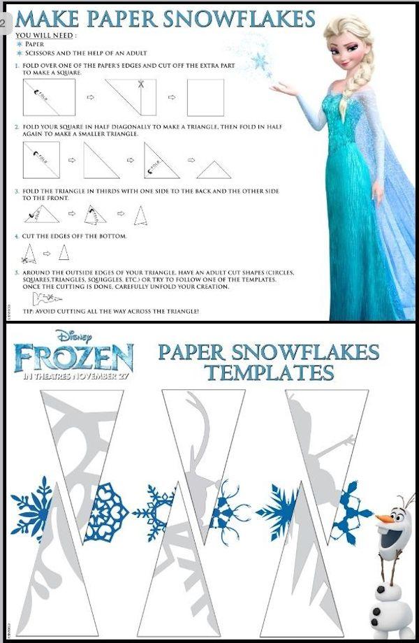 Copos de nieve, aprende a hacerlos de forma fácil | Pequeocio.com
