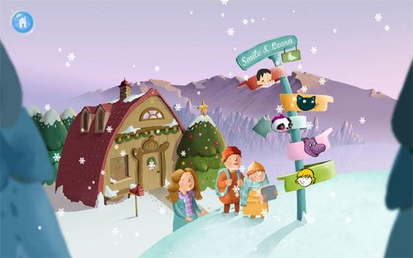 App gratis para niños: Pedacitos de Navidad