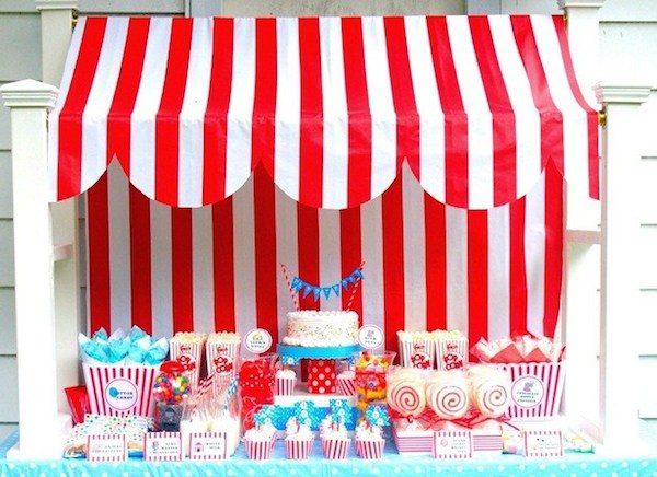 Fiestas infantiles circo