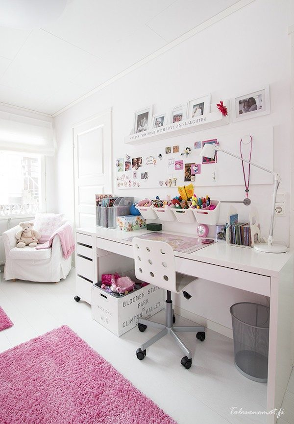 20 ideas para escritorios infantiles insp rate pequeocio. Black Bedroom Furniture Sets. Home Design Ideas