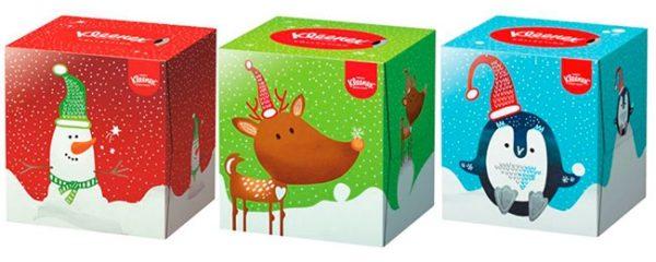Cómo hacer posavasos navideños con Kleenex®