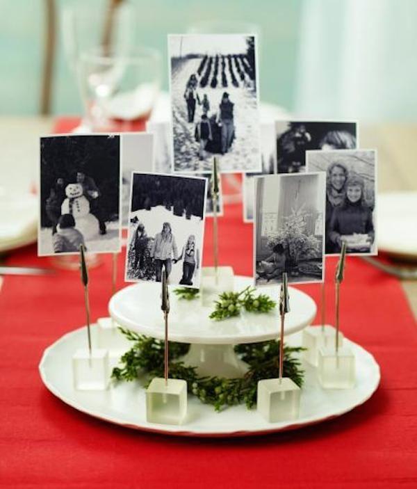 Centros de mesa para navidad originales pequeocio for Centro mesa navidad