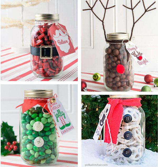 5 regalos de navidad caseros pequeocio for Decoracion navidena con ninos