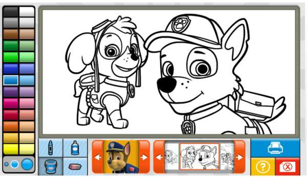 4 juegos online de La Patrulla Canina  Pequeocio