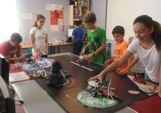Taller infantil de robotica en Valencia