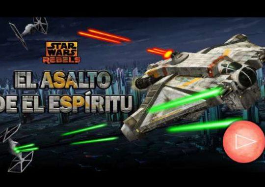 Los mejores juegos online de Star Wars Rebels
