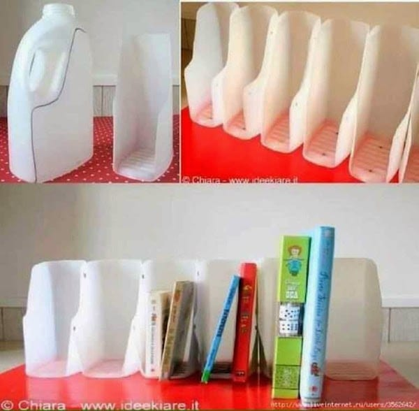 manualidades con botellas de plstico archivadores - Botellas Plastico