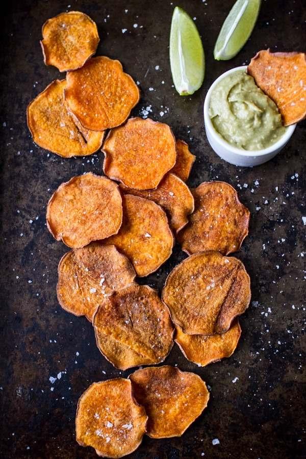 Chips de verdura
