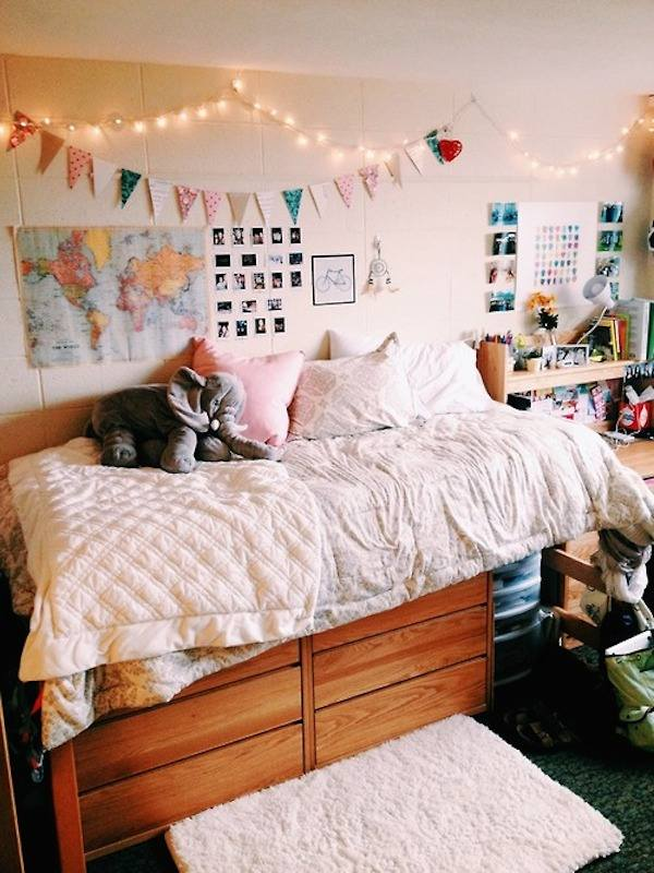 Decorating Ideas > Decorar Con Guirnaldas De Luces  Pequeocio ~ 054341_Dorm Room Ideas Girl 2017
