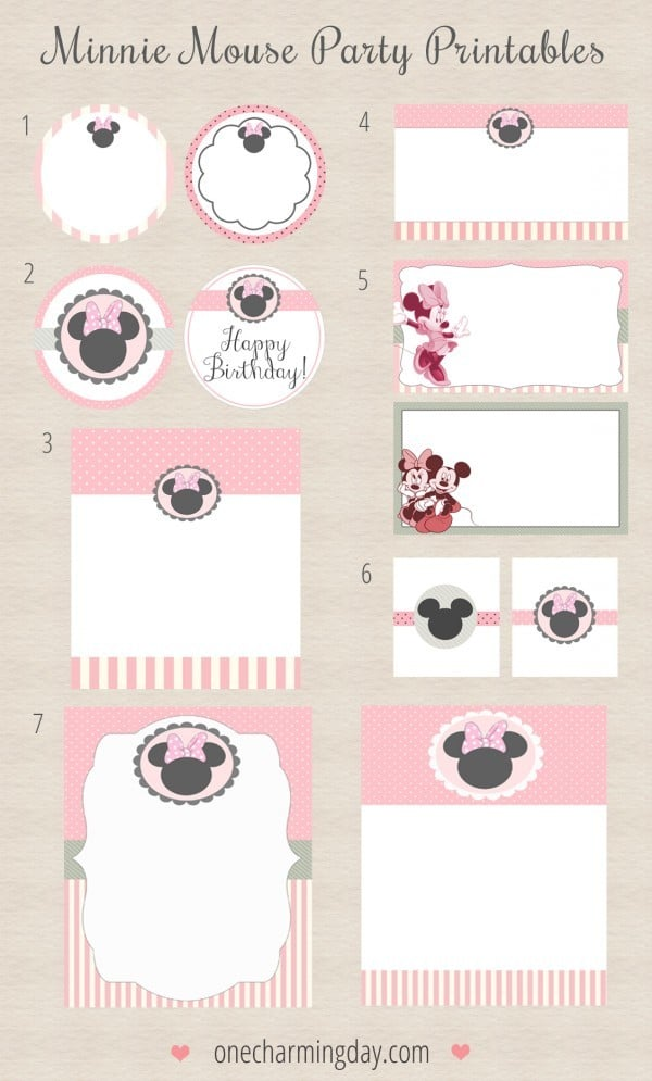 6 Invitaciones De Cumpleaños De Mickey Y Minnie Pequeocio Com