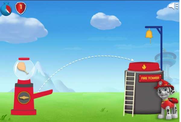 Juegos infantiles online Patrulla Canina