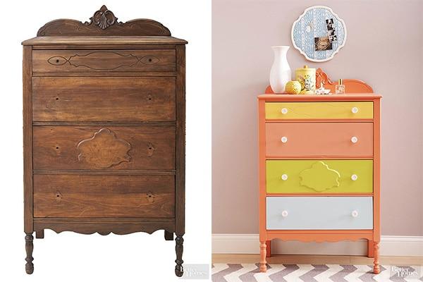 Decoraci n infantil c mo modernizar muebles viejos pequeocio - Como restaurar muebles ...