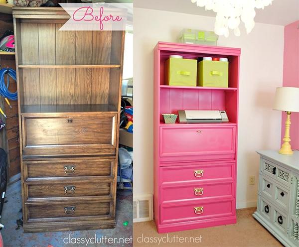Decoraci n infantil c mo modernizar muebles viejos pequeocio - Como reciclar muebles viejos ...