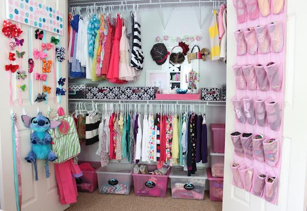 Ideas para aprovechar el espacio en armarios pequeocio - Organizar habitacion infantil ...