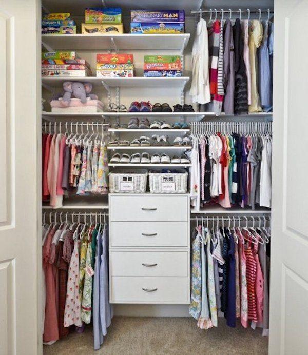 Ideas para aprovechar el espacio en armarios pequeocio for Habitaciones pequenas aprovechar espacio
