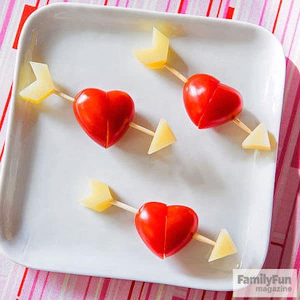 Recetas saludables de San Valentín