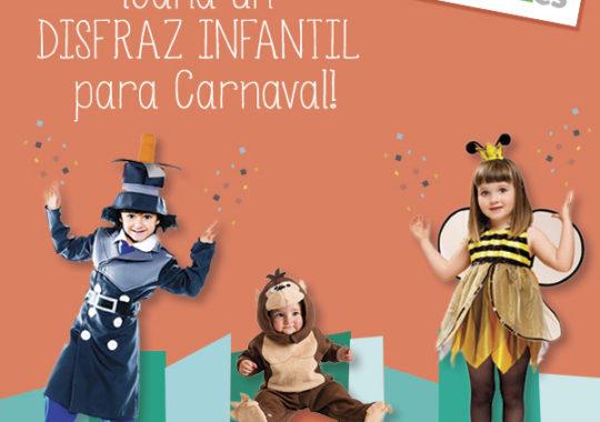 ¡Gana un disfraz infantil para Carnaval! 4