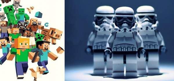Desafio Minecraft y Star Wars en Valencia