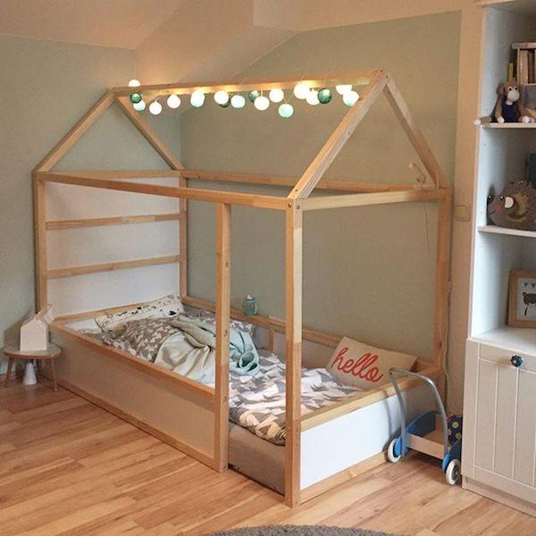 Camas infantiles en forma de casita pequeocio - Cama casita infantil ...
