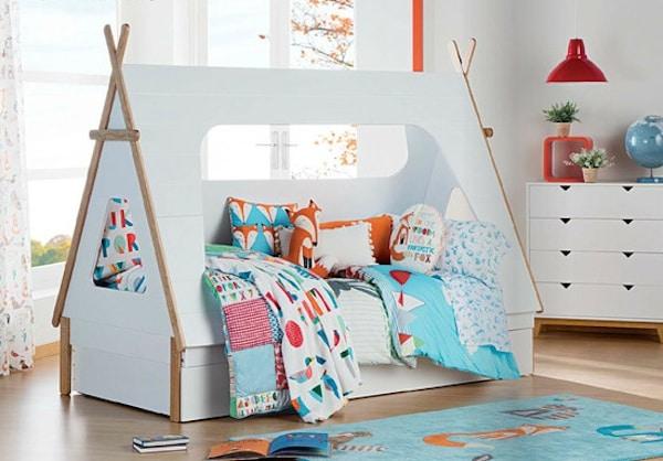 Camas infantiles en forma de casita pequeocio - Venta de casitas infantiles ...