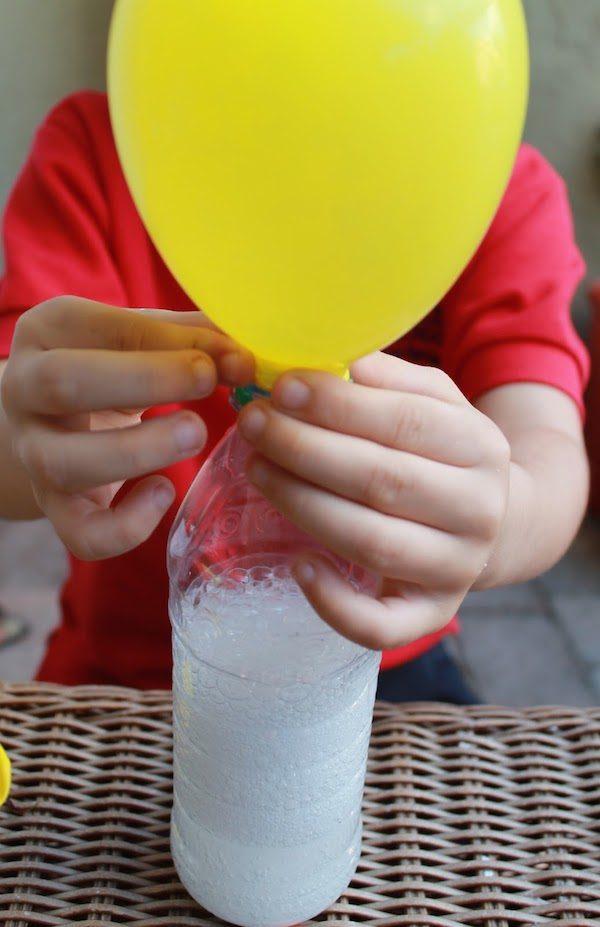 experimentos para niños