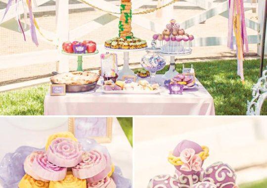 Fiestas infantiles de Rapunzel