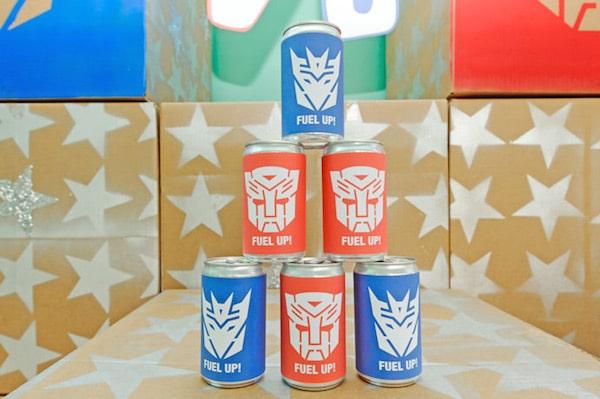 Cumpleaños temáticos Transformers