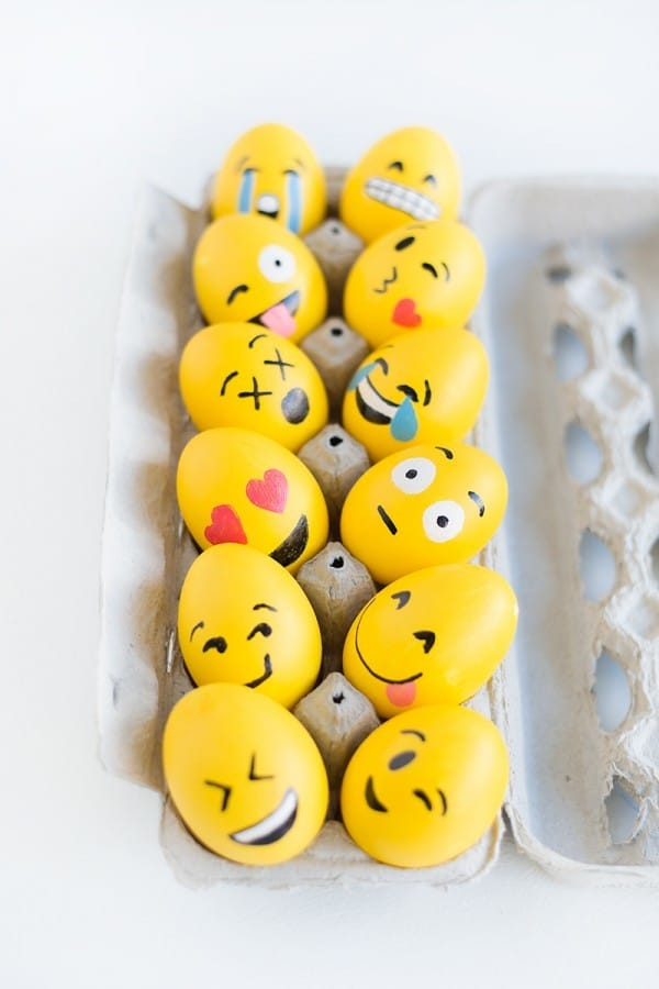Pascua Ideas Para Decorar Huevos Con Los Nios Pequeocio