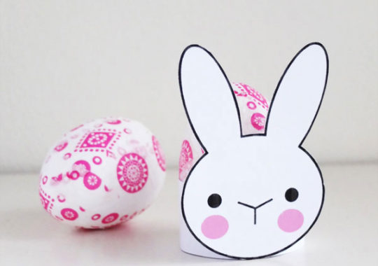 Imprimibles para regalar huevos de Pascua